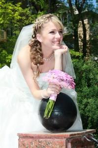 Прекрасная невеста.Видеосъемка.