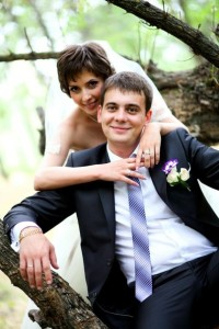 Первая свадьба.
