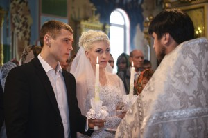 Видеосъемка свадьбы.Венчание.Церковь.