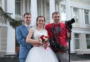 Видеооператор.Съемка свадьбы.