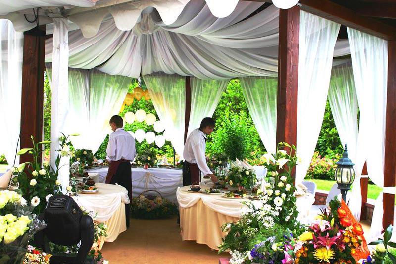 Свадебный банкет.Колонны и видеосъемка свадьбы214570