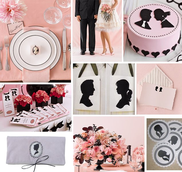 розовый цвет свадьбы 2369-