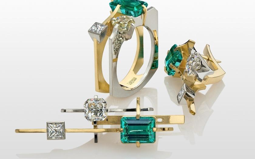 Необычная форма кольца 3468