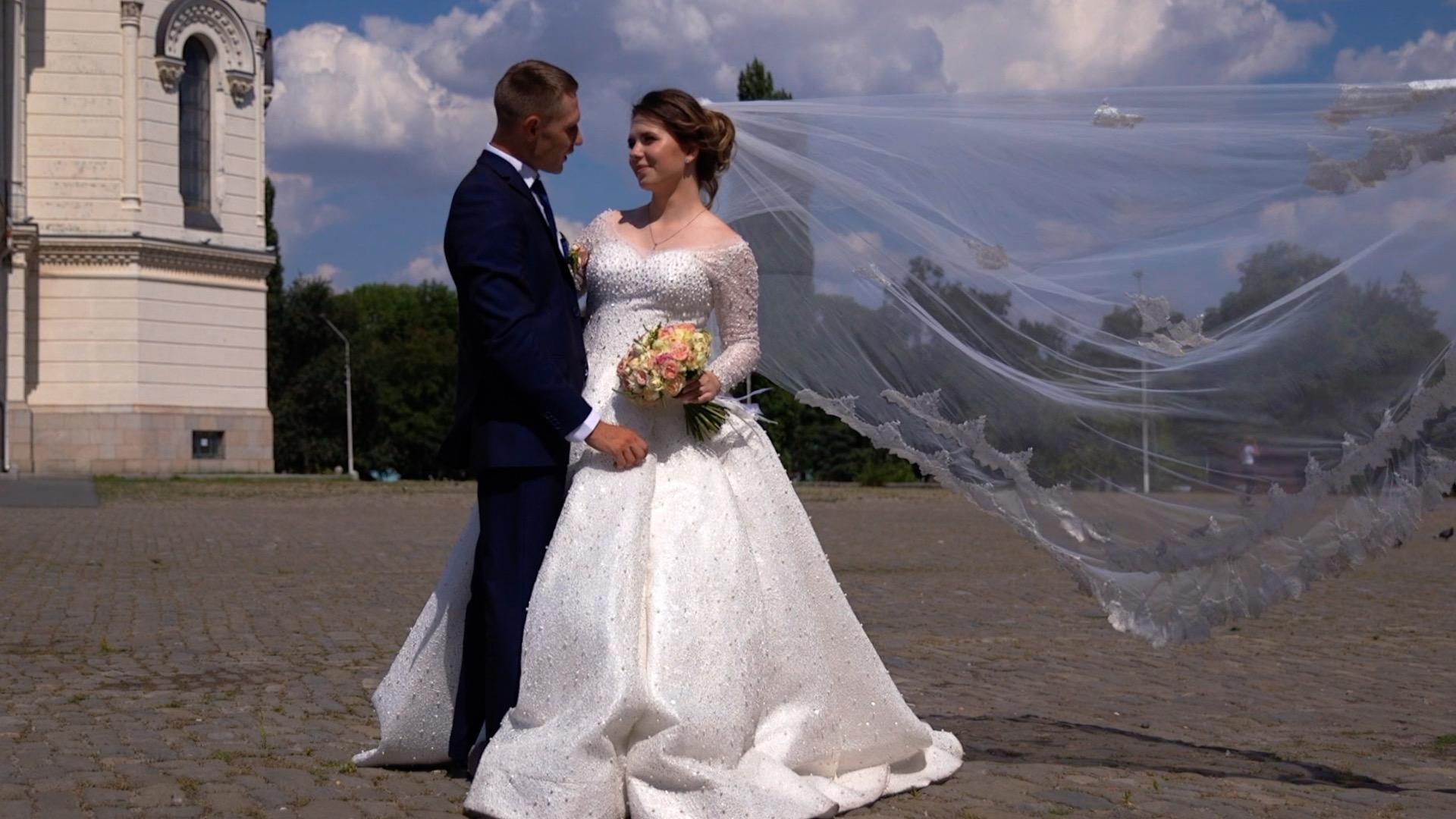 длинное свадебное платье 124790