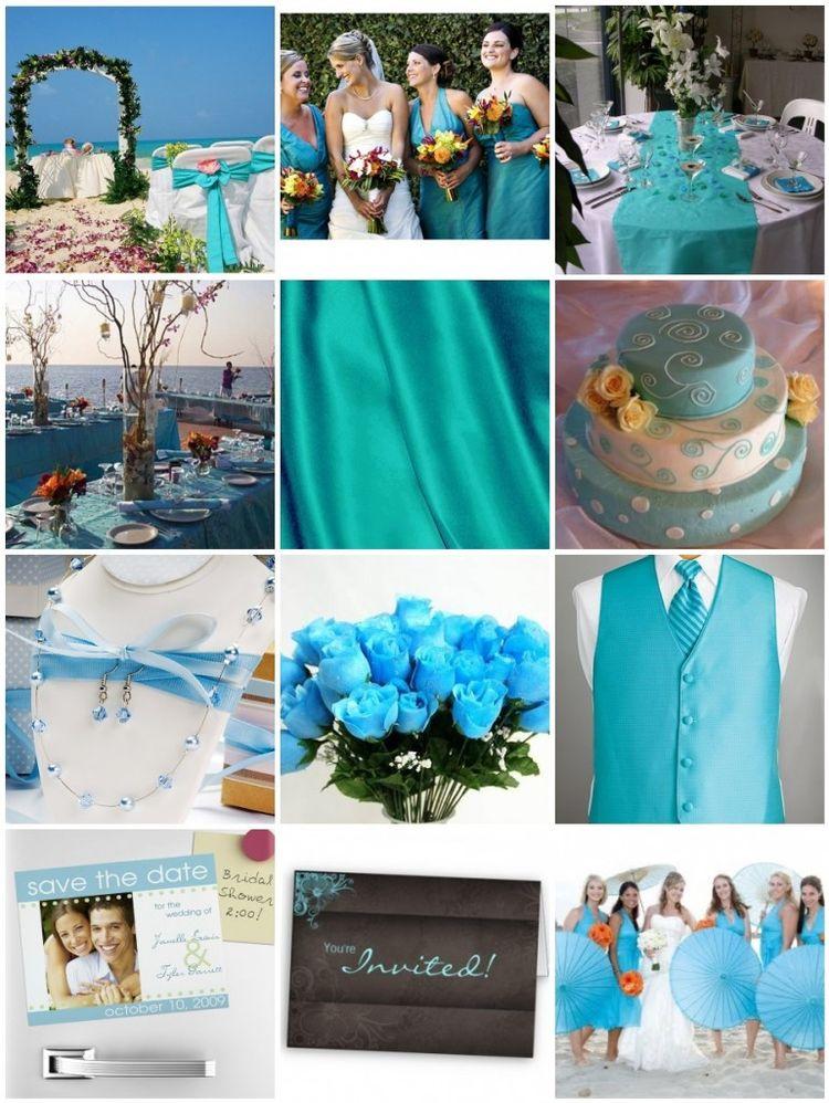Цветовые решения на свадьбе2709