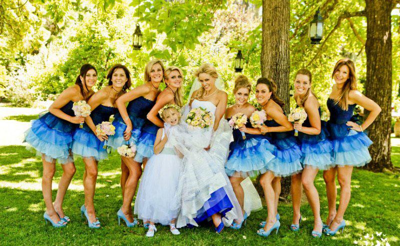 Цветовые решения на свадьбе часть 2