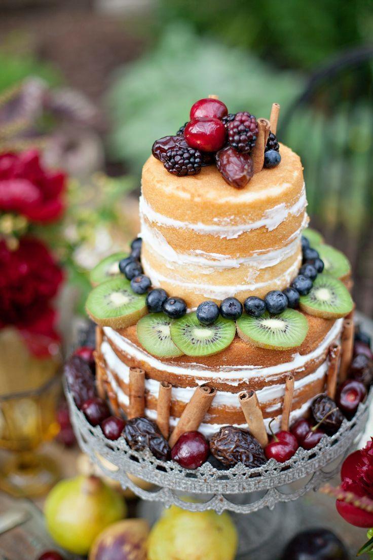 свадебный ягодный торт12334
