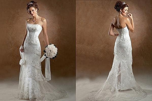 Свадебное платье со шлейфом 72323367809