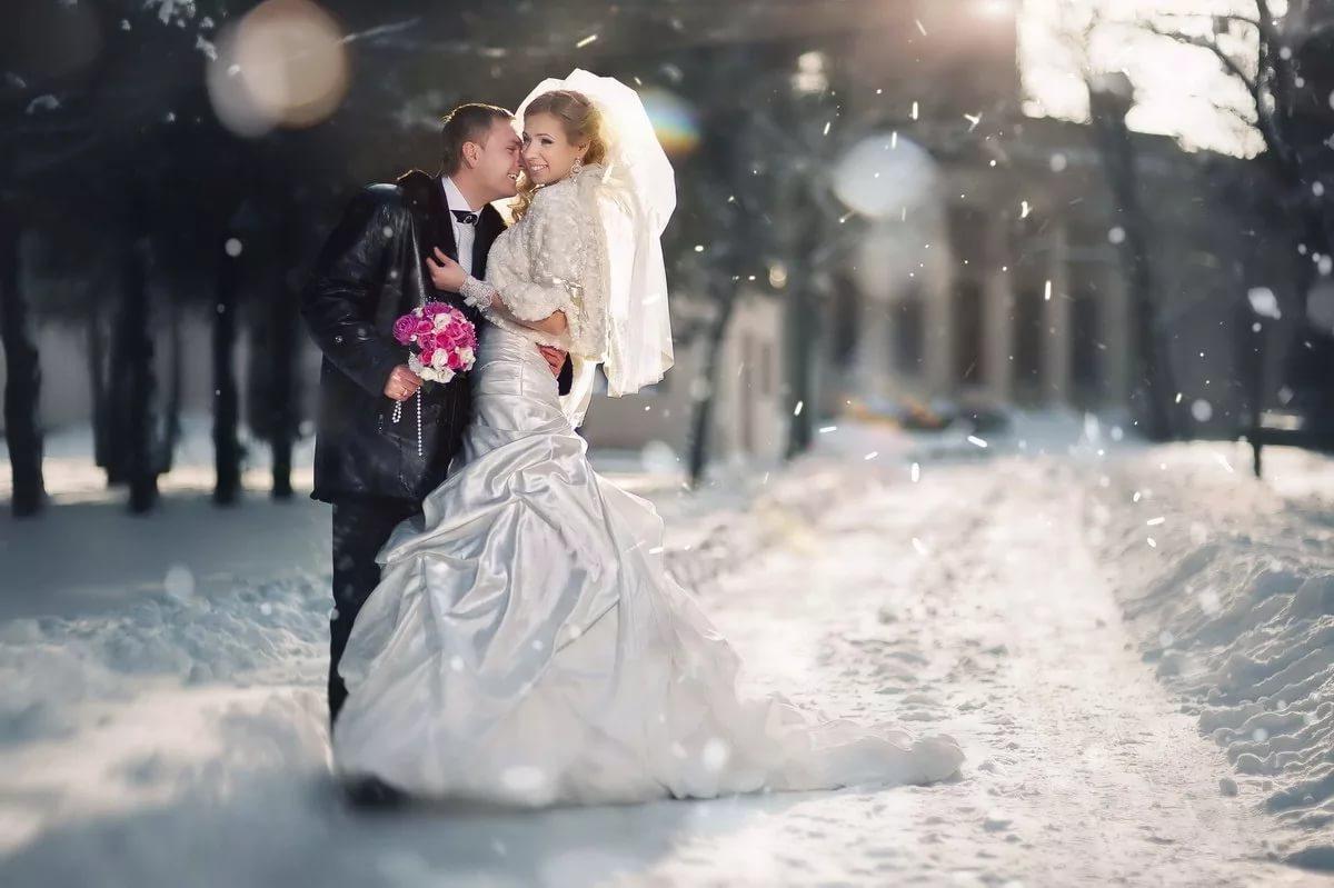 Видеосъемка свадьбы, зима 12334