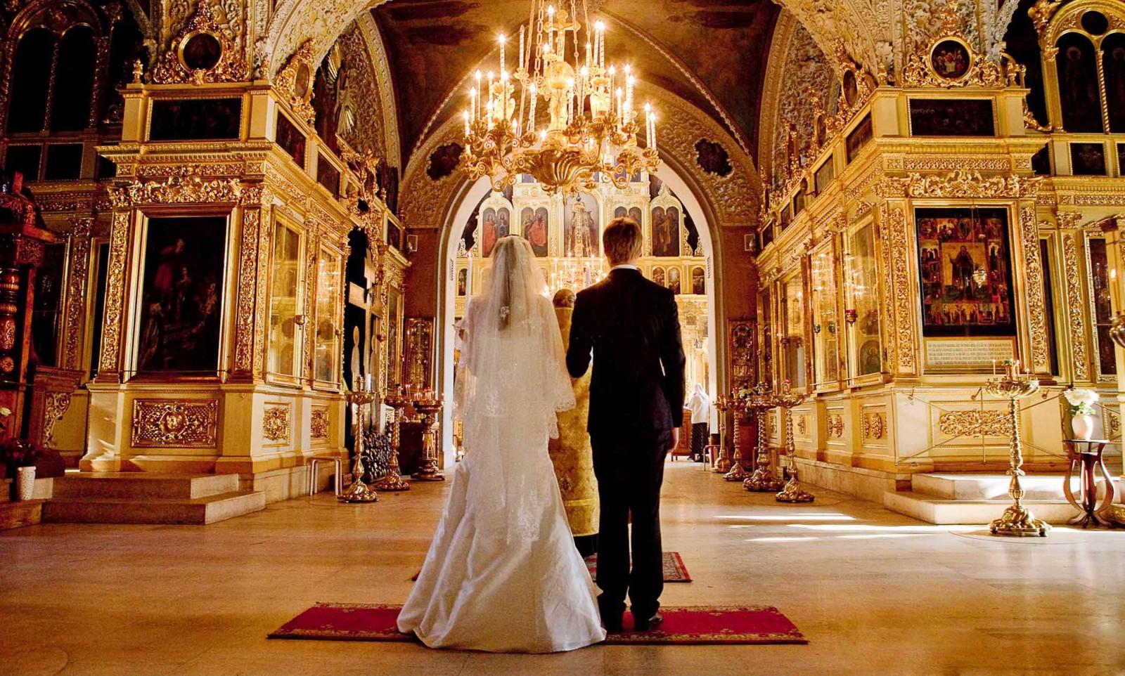 венчангие в церкви 8790