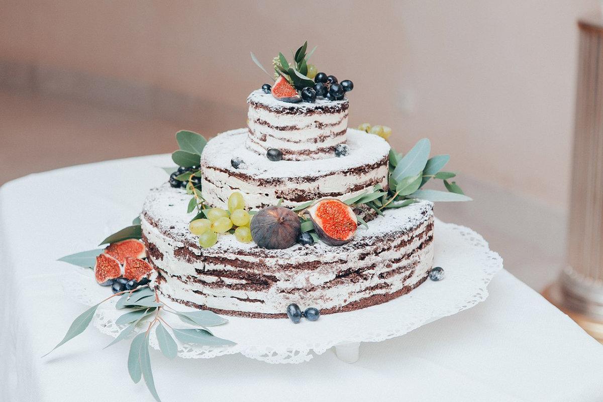 домашний свадебный торт557890-=