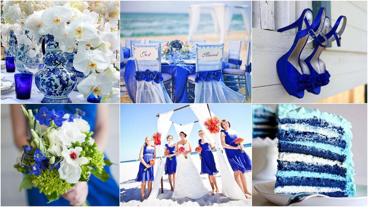 синий цветовой оттенок свадьбы и видеосъемка 24679