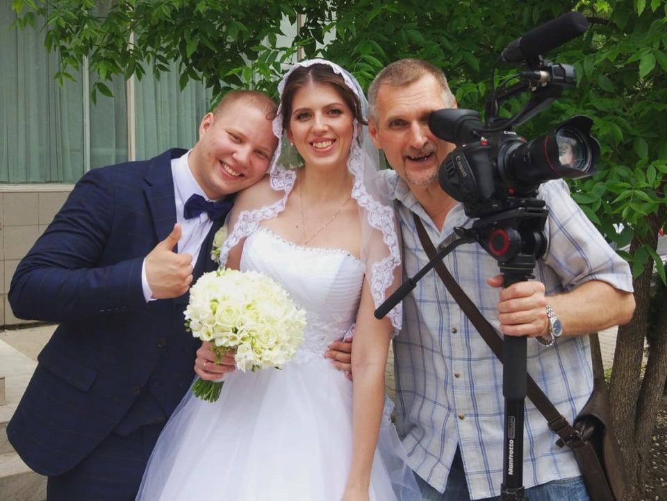 Видеооператор на свадьбе13570
