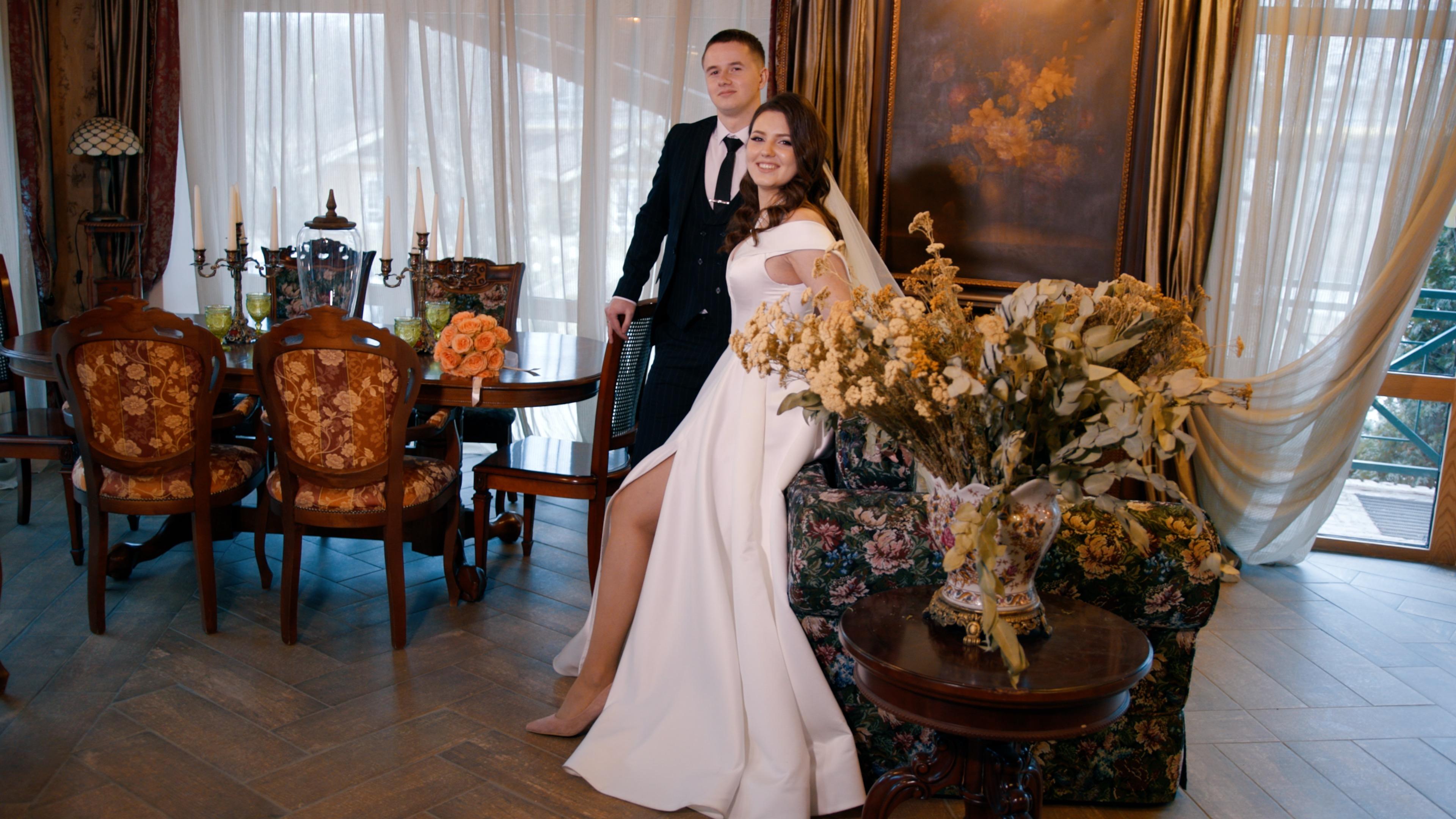 Видеосъемка свадьбы, встреча молодоженов2701